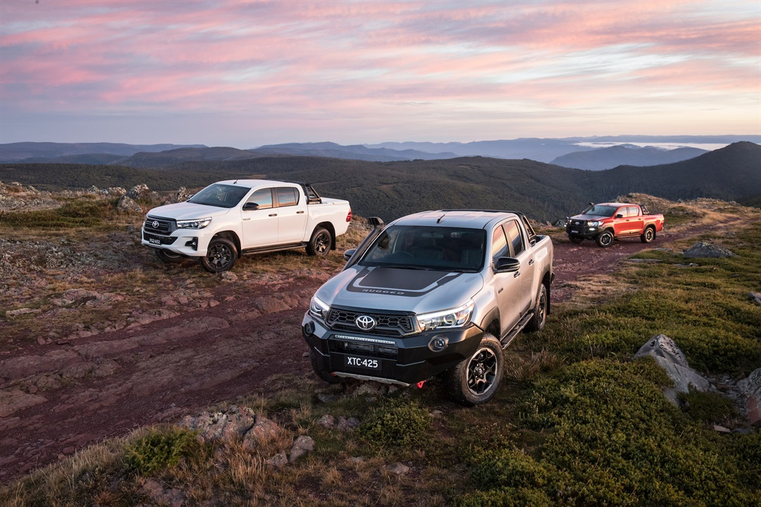Introducing the HiLux 4x4 Rugged X, Rugged and Rogue